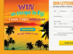 Win a Family Escape to Fiji