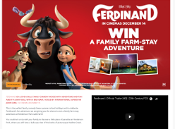 Win a Family Farm-Stay Adventure