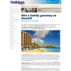 Win a family getaway to Hawaii