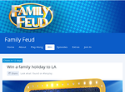 Win a family holiday to LA!