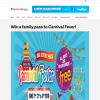 Win a family pass to Carnival Fever