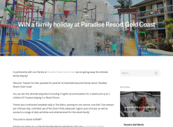 Win a family staycay on the Gold Coast!