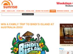 Win a family trip to Bindi's Island at Australia Zoo!