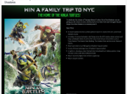 Win a family trip to NYC!