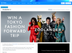 Win a fashion forward trip for 2 to Tokyo!