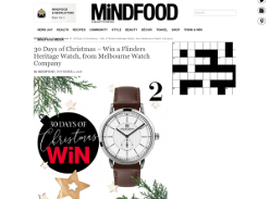 Win a Flinders Heritage Watch