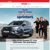 Win a Ford Escape ST-Line with Kate, Tim and Marty