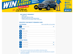 Win a Ford Everest!