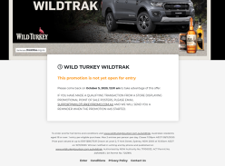 Win a Ford Ranger WILDTRAK!
