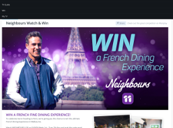 Win a French Fine Dining Experience