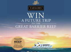 Win a future trip to the Great Barrier Reef!