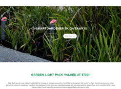 Win a Garden Light Pack