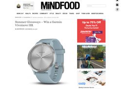 Win a Garmin Vivomove HR