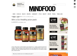 Win a Go Healthy prize pack