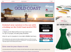 Win a Gold Coast holiday worth $750!