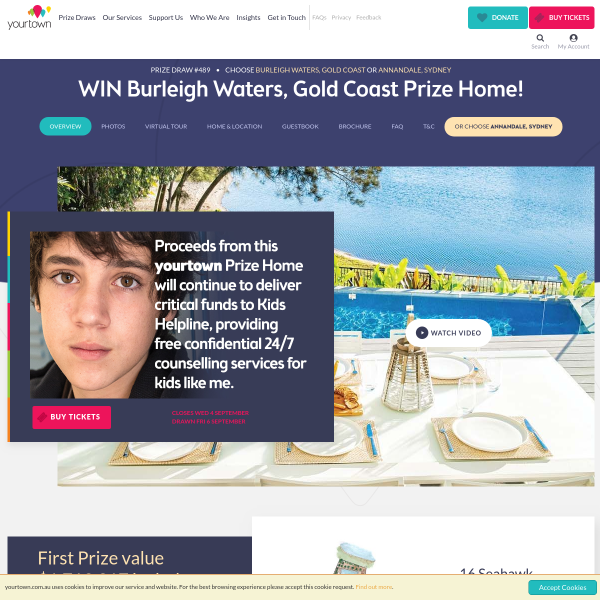 Win a Gold Coast Luxury Home