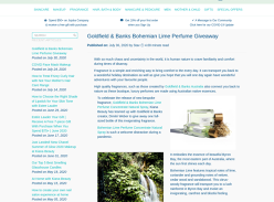 Win a Goldfields and Banks Australian Bohemian Lime Perfume