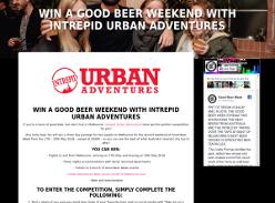 Win a Good Beer Weekend with Intrepid Urban Adventures