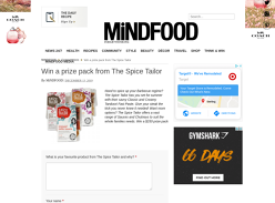 Win a Gourmet Food Pack