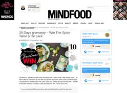 Win a Gourmet Spice Hamper