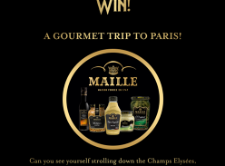 Win a Gourmet Trip to Paris & More