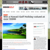 Win a Hawaii Golf Holiday