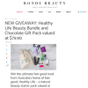 Win a Healthy Life Beauty Bundle and Chocolate Gift Pack