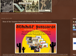 Win a Heat of the Summer Postcard