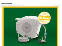 Win a Hi-Flow 25m Auto Hose Reel