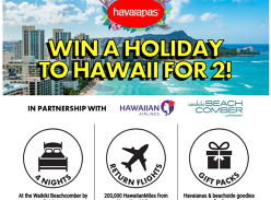 Win a Holiday in Hawaii for 2