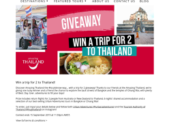 Win a Holiday in Thailand for 2
