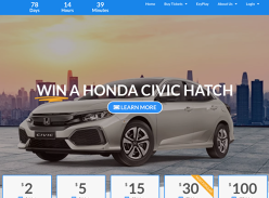Win a Honda Civic Hatch Car