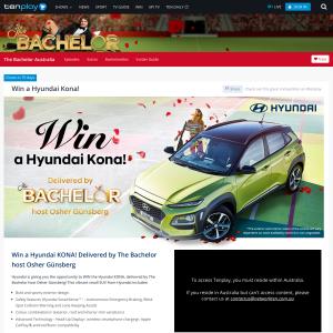 Tenplay - Win a Hyundai Kona - Competitions com au