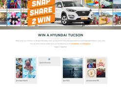 Win a Hyundai Tucson
