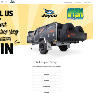 Win a Jayco JTRAK Outback X Tent Trailer worth $23,990!