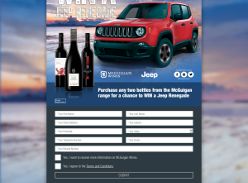 Win a JEEP Renegade!