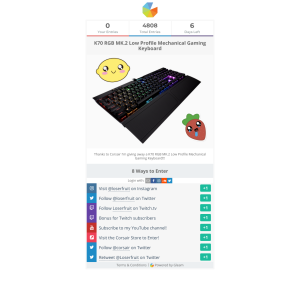 K70 game profiles   K70 LUX Profiles are not working?  2019-07-10