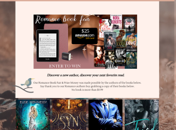 Win A Kindle Paperwhite + Amazon Gift Card + 10 eBooks