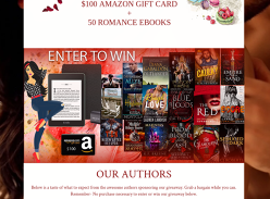 Win A Kindle Paperwhite + Amazon Gift Card + 50 eBooks