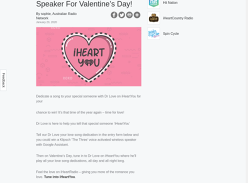 Win a Klipsch Voice Activated Speaker for Valentines Day!