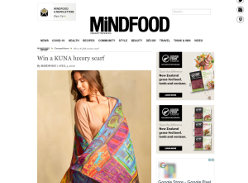 Win a Kuna luxury scarf worth $359!