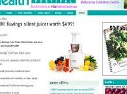 Win a Kuvings silent juicer worth $499!