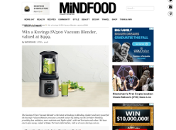 Win a Kuvings SV500 Vacuum Blender