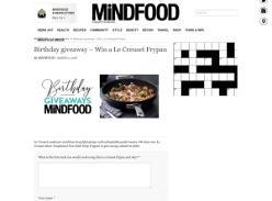 Win a Le Creuset Frypan