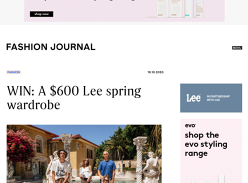 Win a Lee Spring Wardrobe