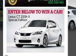 Win a Lexus CT 200h X Special Edition