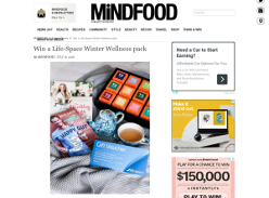 Win a Life-Space Winter Wellness pack