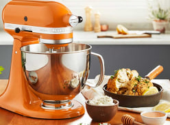 Win a limited-edition KitchenAid stand mixer in 'Honey'
