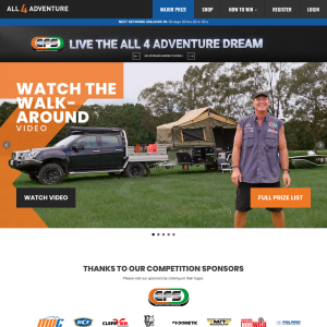 Win a Live The All 4 Adventure Dream Prizes