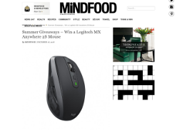 Win a Logitech MX Anywhere 2S Mouse